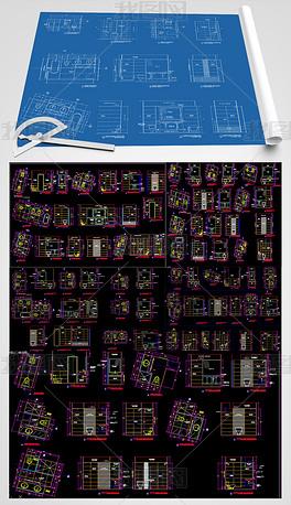 卫生间平面布置图CAD图纸