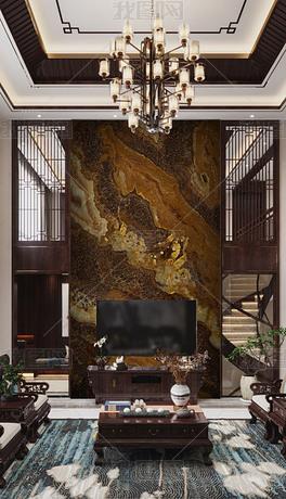高档奢石复式大板