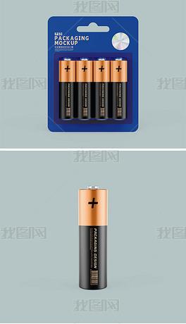 5号电池包装样机