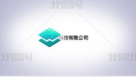 简洁企业标题logo展示AE模板