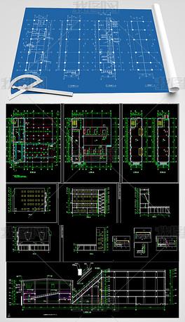 大型锅炉房及干煤棚结构施工图