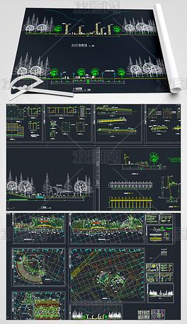 公园CAD施工图