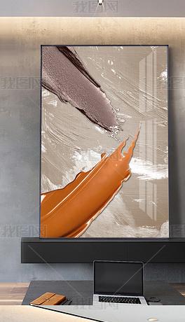 现代抽象油画艺术立体大气客厅玄关挂画装饰画4