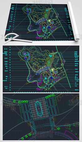 公园绿化CAD