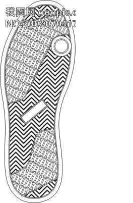 动感十足的运动鞋
