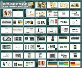 国外企业vi设计模板
